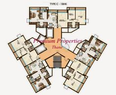 Parkwoods Ghodbunder Road Thane realtors, properties, flats, apartments, in Thane. resale buy sell rent sale.