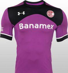 Deportivo Toluca 2015-16 Under Armour Third Kits