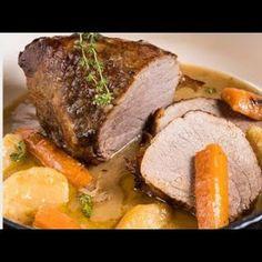 Μοσχάρι λεμονάτο Greek Recipes, Pot Roast, No Cook Meals, Steak, Recipies, Food And Drink, Sweets, Lunch, Beef