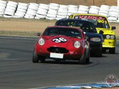 Got to say that a Sunday Screamer Mini Jem doesn't half look good on a race track!