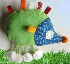 Hérissons - En tissu, feutrine, tricot, crochet - Tutoriels