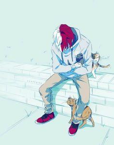 My Hero Academia Boku No Hero Academia, My Hero Academia Memes, Hero Academia Characters, My Hero Academia Manga, M Anime, Fanarts Anime, Anime Art, Cute Anime Guys, Anime Love