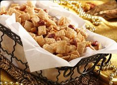 Chex Brittle... so addicting and if u don't need it gluten free add pretzals for even more salty sweet goodness
