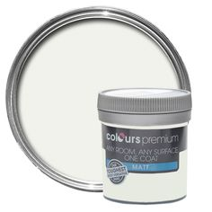 Colours Premium Cucumber Mist Matt Emulsion Paint 50ml Tester Pot | Departments | DIY at B&Q