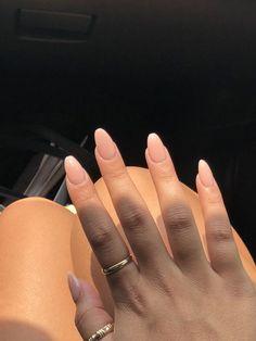 pink powder almond nails pink powder almond nails – Pink nails and flowersWinter long pink nailsGorgeous pink and white Natural Acrylic Nails, Best Acrylic Nails, Natural Nails, Acrylic Nail Shapes, Acrylic Art, Acrylic Nails Pastel, Aycrlic Nails, Cute Nails, Hair And Nails