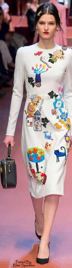 Dolce & Gabbana Fall 2015 RTW  ♕♚εїз | BLAIR SPARKLES