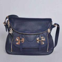 Marc Jacobs Petal to the Metal Natasha Shoulder Bags Blue Handbags Online 732fdc0b1de90