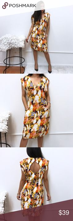 "Anthropologie Maple dress sz 4 Anthropologie Maple dress Sz 4. Chest flat across 19"" length 37"" Anthropologie Dresses"
