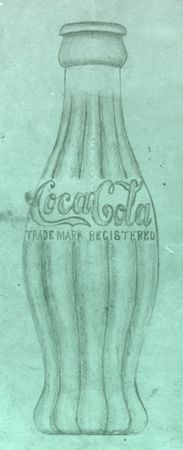 When the Coca-Cola Company began brainstorming bottle designs for the eponymous beverage, they set two goals for the final product: It had to be recognizable in the dark and broken into pieces. The result? A svelte, ribbed-glass bottle, designed by Earl R. Dean for the company in 1915 (the original drawing is pictured here).