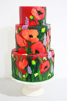 Poppy by Valeri and Christina of Queen of Hearts Couture Cakes