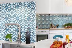 Beautiful kitchen backsplash tiles - Designové kuchyňské obklady