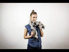 10 Wege einen Schal zu binden | EDITED - YouTube