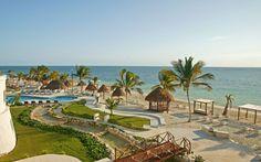 beachside at Azul Beach Hotel in Riviera Maya, Mexico
