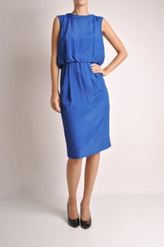 Blue Nina Dress from Peter Jensen. We love!