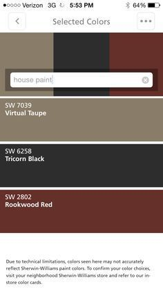 Ideas for front door colors with tan house brown exterior paint Best Exterior Paint, Exterior Paint Colors For House, Exterior Siding, Paint Colors For Home, Siding Colors, Grey Exterior, Exterior Shutter Colors, Brick Colors, Black Trim Exterior House