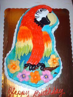 Parrot Cake