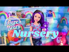 (1) DIY - How to Make: Care Bears Nursery Doll Room   Crib   Mini Figures   Custom Rug & More - YouTube