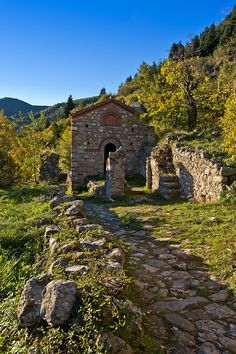 Mystras, Lakonia, Greece.