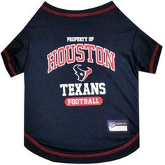 Pets First NFL Houston Texans Pet T-shirt, Assorted Sizes, Multicolor