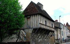 Puy-Saint-Front (the medieval centre of Périgueux),France.