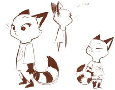 Image result for zootopia character concept art