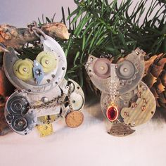 Finished some new owls this week!