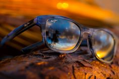 Check out the unique Ka'a Point by Maui Jim! www.fashioneyewear.co.uk/maui-jim-ka-a-point.html