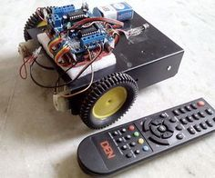 Today in Robot News: Make Yourself a TV Remote Controlled Arduino Robot!