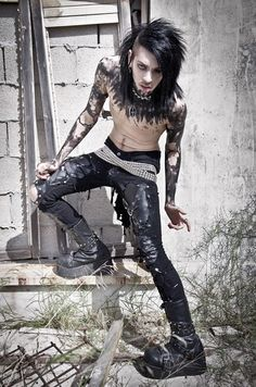 Caligo Bastet - Goth Model & Musician from Israel