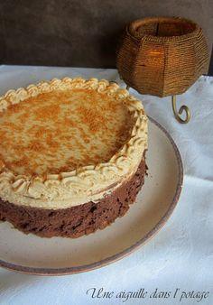 une aiguille dans l' potage: Entremet au feuilleté praliné, mousse chocolat et ...