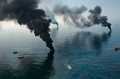 """*HISTORICAL REFERENCE*  The 1969 oil spill in Santa Barbara had several catastrophic impacts on the environment. It took the lives of thousands of animals and left a 6 inch coat of oil along 35 miles of coastline. This relates to the Spring Summer 2016 trend """"Deep Summer"""" due to the environment aspect of this article."""