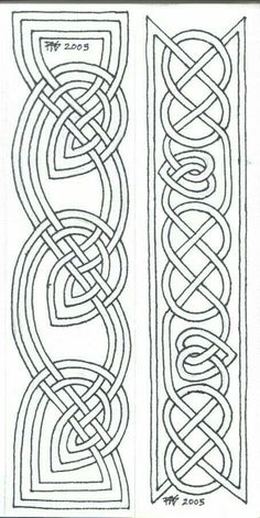 Pigma Micron size 01 on paper, two 1 x designs Two bookmarks of a group I'm doing for gifts for my housemates. Please feel free to print these o. Bookmarks Line Art 1 Celtic Symbols, Celtic Art, Celtic Knots, Mayan Symbols, Egyptian Symbols, Ancient Symbols, Celtic Mandala, Celtic Dragon, Viking Embroidery