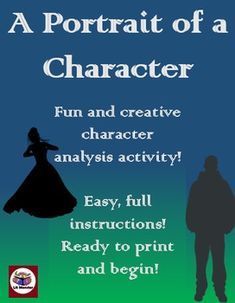 In this activity/project, students analyze a character using art and textual evidence. I include different versions of the assignments for more advanced classes that add components of assertions, commentary, and embedded evidence. This package includes the following:- Detailed and easy-to-follow directions with an example- Drafting page with outline- Rubric- Variations for different levelsThis is a great activity to do as a final assessment or when leading up to a character analysis essay.