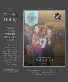 Nataly confirmacion