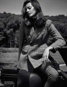 Numéro France October 2016  Photography: Nathaniel Goldberg Styled by: Patrick Mackie Hair: Vi Sapyyapy Makeup: Saloi Jeddi Model: Amanda Murphy