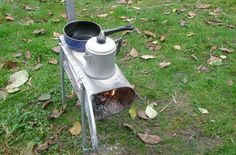 How to Make a Mailbox Stove #stepbystep