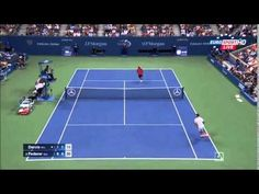 Roger Federer vs Steve Darcis Highlights 2015 US OPEN R2