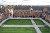 Keble College quad