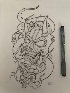 Samurai Zeichnungen - Tattoos Propios 2020 - Old School . - Disegni samurai – Tattoos propios 2020 – old school Samurai Zeichnungen – Tattoos Propios 2020 – # Zeichnungen # Propios Old School Small Japanese Tattoo, Japanese Mask Tattoo, Japanese Tattoo Meanings, Japanese Tattoo Designs, Japanese Sleeve Tattoos, Japanese Tattoo Samurai, Japanese Dragon Tattoos, Traditional Japanese Tattoos, Japanese Art