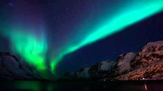Celestial Lights   A time lapse of the aurora borealis in Tromso, Norway...
