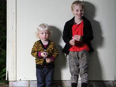 Thea's kids are given the option to wear clothes from either gender and encouraged to play with all sorts of toys — not just traditional male ones. Picture: Simon Bullard