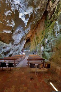 Amazing And Mysterious Cave Churches And Monasteries Made In Rock - MessageToEagle.com