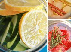 Recetas para adelgazar: Aguas para depurar y desintoxicar