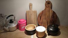 Collection planches à découper pots et théières