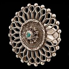 Silver andTurquoise Ring | Afghanistan  Circa Early 20th Century.