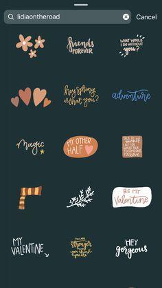 Stickers Instagram, Instagram Feed, Instagram Hacks, Snapchat Stickers, Foto Instagram, Instagram And Snapchat, Instagram Quotes, Creative Instagram Stories, Instagram Story Ideas