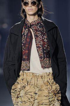 Dries Van Noten at Paris Fashion Week Spring 2014 - StyleBistro