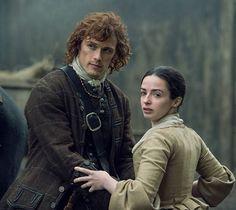 Jamie y Jenny  Imagen de farfarawaysite  #JamieFraser  #Jenny  #Outlander  #OutlanderSeason2