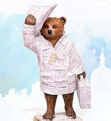 Paddington Trail Bears - Celebrity Designers & More - visitlondon.com Good News Bear by the Telegraph