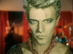 "David Bowie, Blue Jean video (as ""Screaming Lord Byron"")"